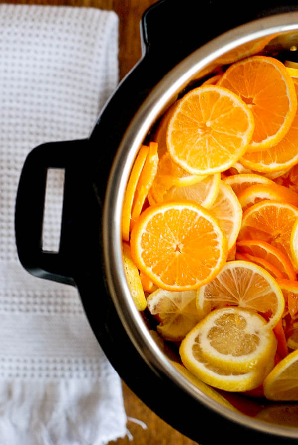 Instant Pot Orange And Lemon Marmalade