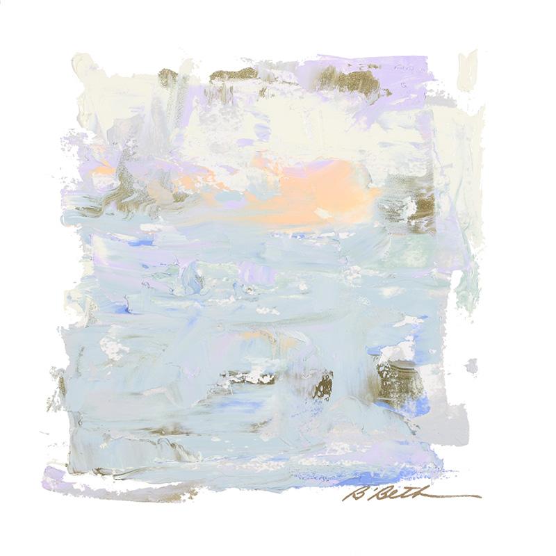 """LANDSCAPE IV, 10"""" x 10"""", OIL ON PAPER"""