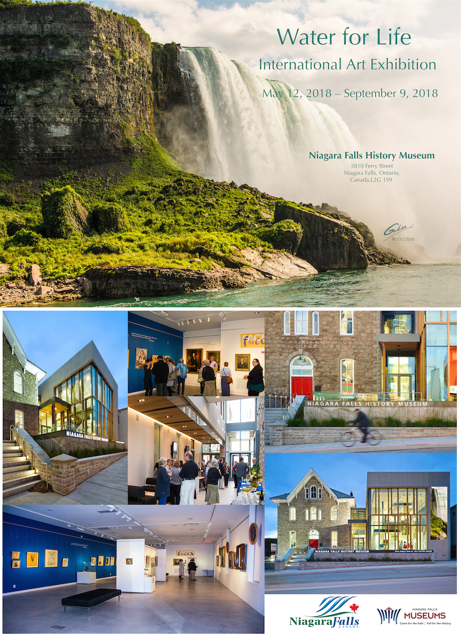 May 12th – September 9th, 2018 Niagara Falls History Museum Ontario, Canada 🇨🇦