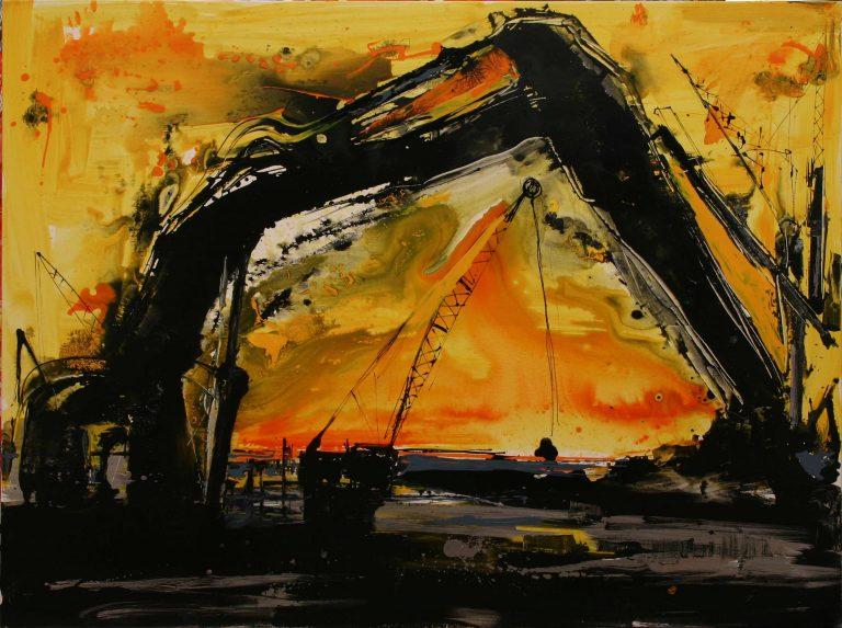 The Yellow Horizon Bridge by Dr. Mina Valyraki