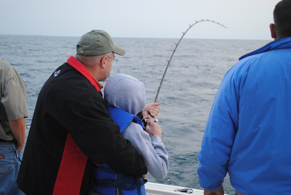 Lake Michigan Charter Fishing