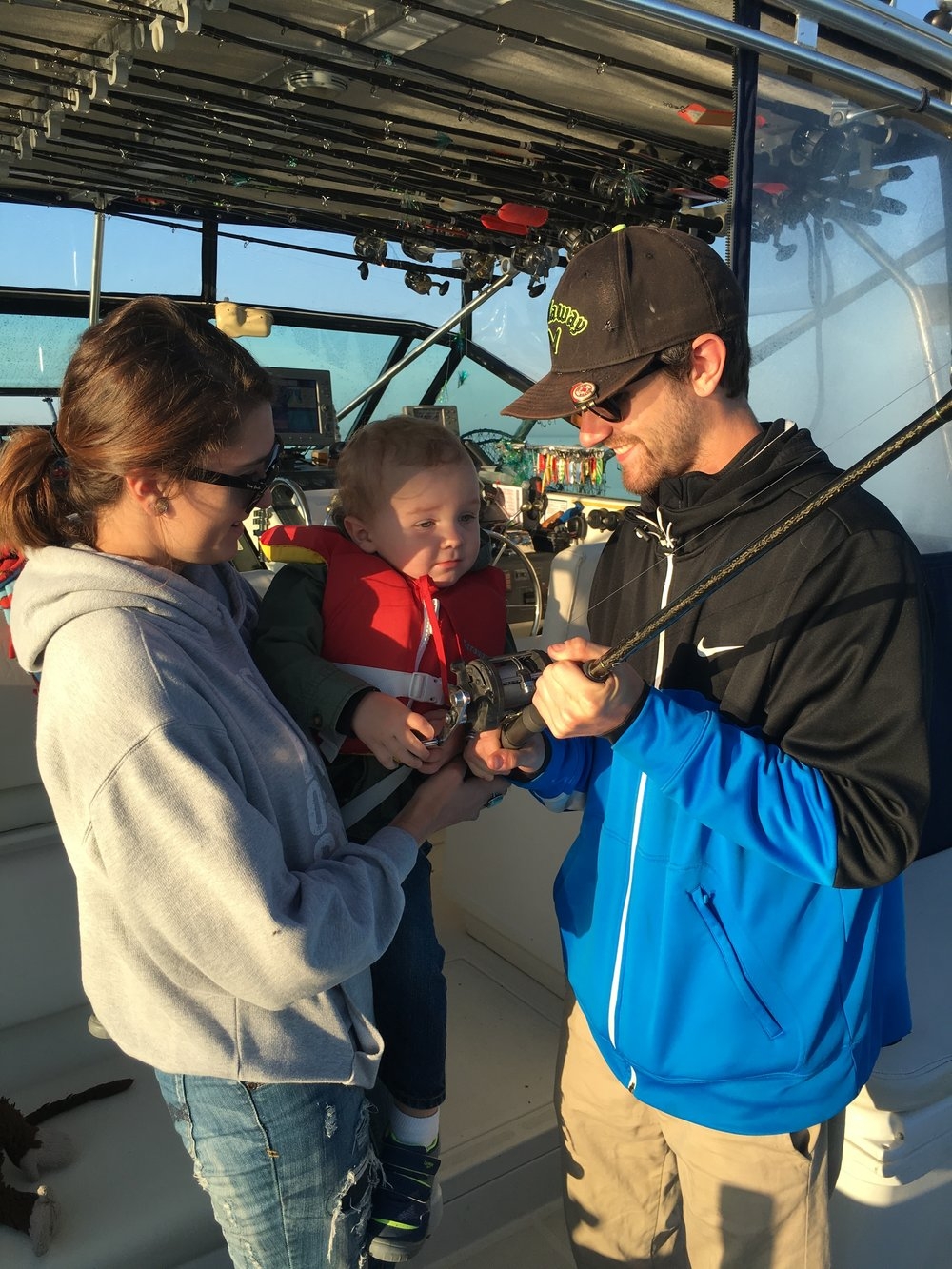 Lake Michigan Fishing Charter