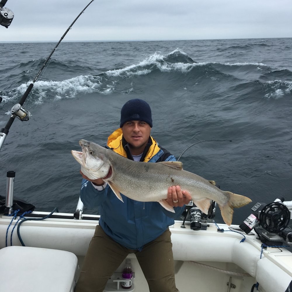Milwaukee Charter Fishing Lake Trout