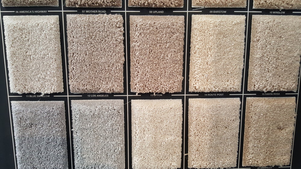 Textured   This is the go to carpet if you have a very active household. Very popular for homeowners that want a casual carpet that will hold up for many years. Hides stains, footprints and vacuum marks. With such a wide variety of colors and prices, this carpet can suit any household.