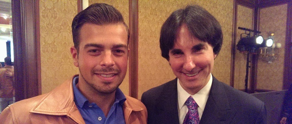 Myself & Dr. John Demartini at a conference back in 2015