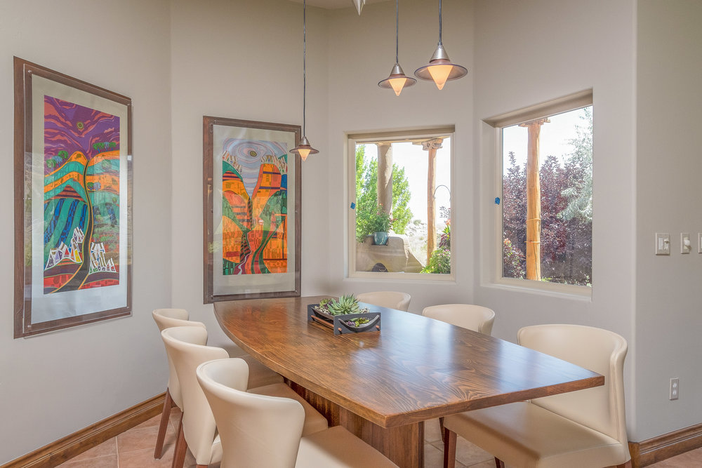 Real Estate Photography Interior Dinning Room