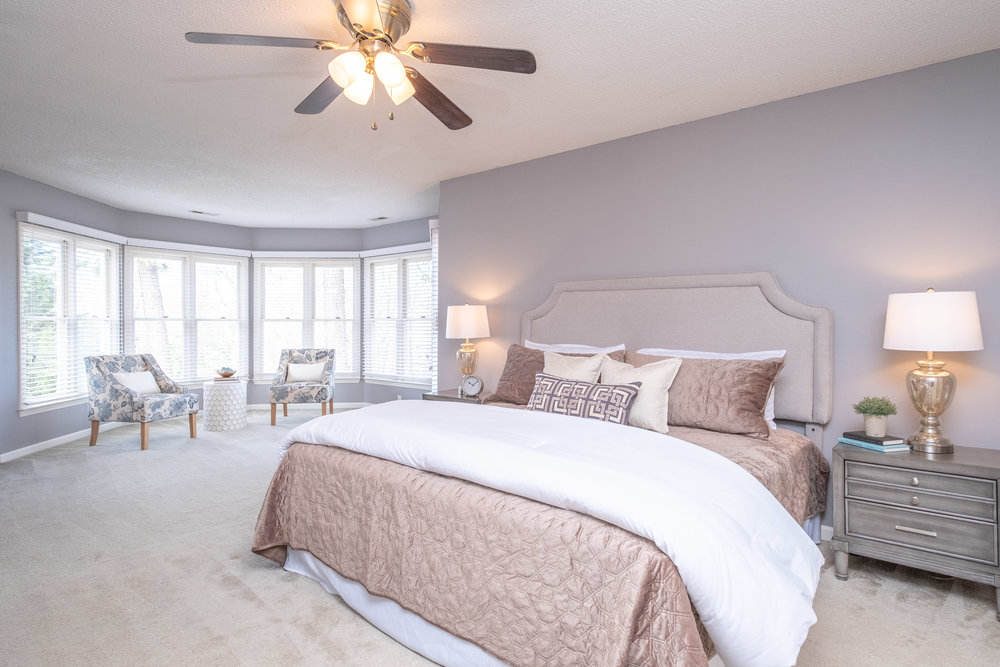 Durham Real Estate Photography Interior Master Bedroom 2