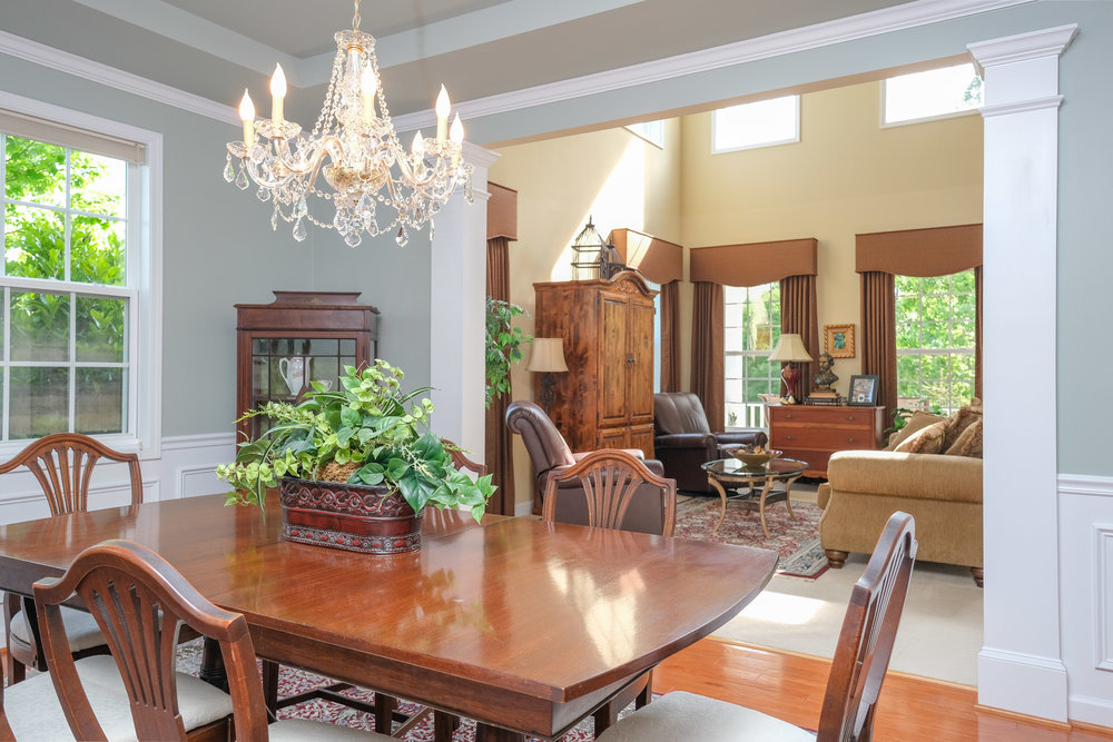 Durham Real Estate Photography Interior Dining Room