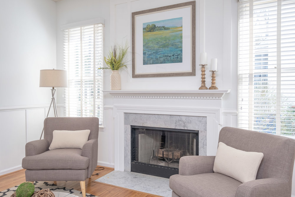 Durham Real Estate Photography Interior Living Room 3