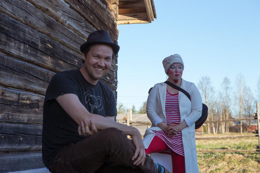 Juha Rautio & Hanna Terävä, Photo by Jouni Ihalainen