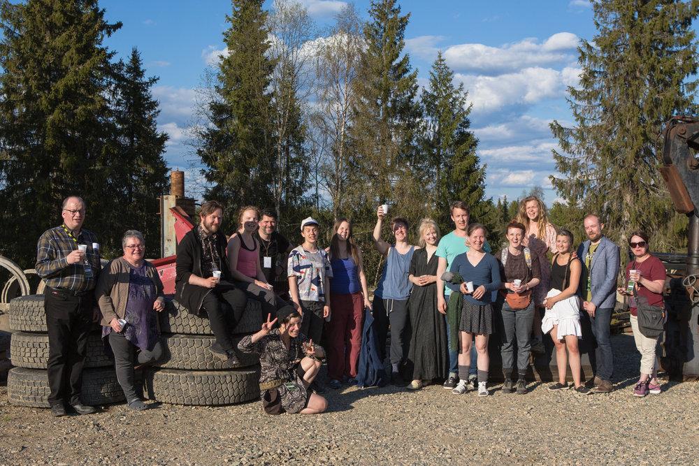 Sivuhenkilöt (Sidekicks) & crew, Photo by Jouni Ihalainen
