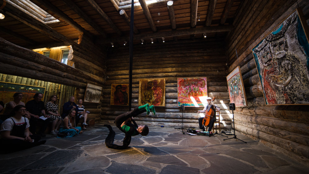 Perilliset - monitaiteinen konsertti (Heirs - Multi-art Concert), Photo by Jouni Ihalainen