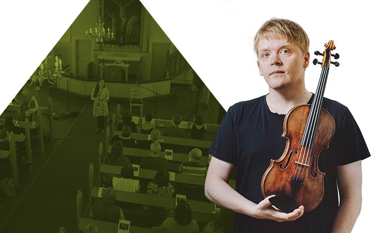 sun june 10th | at 9pm kittilä Church    Kittilä's 150th Anniversary Concert  Rajalla, vielä tässä Pekka Kuusisto ja runoilijoiden orkesteri