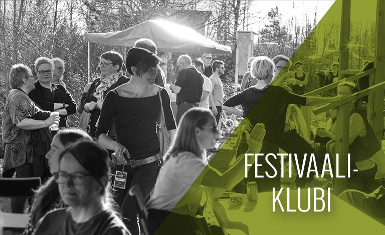 ke 6.6.2018 | klo 22-02 KAUKOSEN TYÖVÄENTALO   Festivaaliklubi
