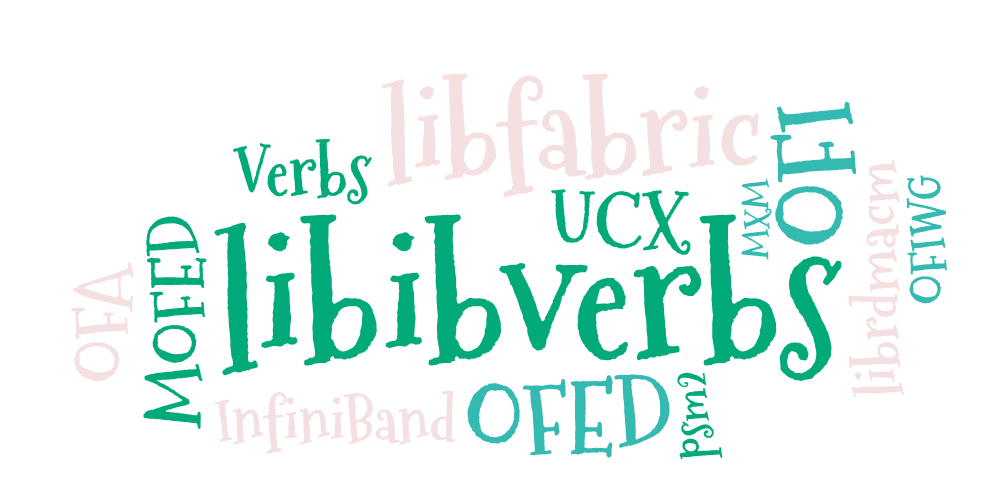 For the RDMA novice: libfabric, libibverbs, InfiniBand, OFED, MOFED