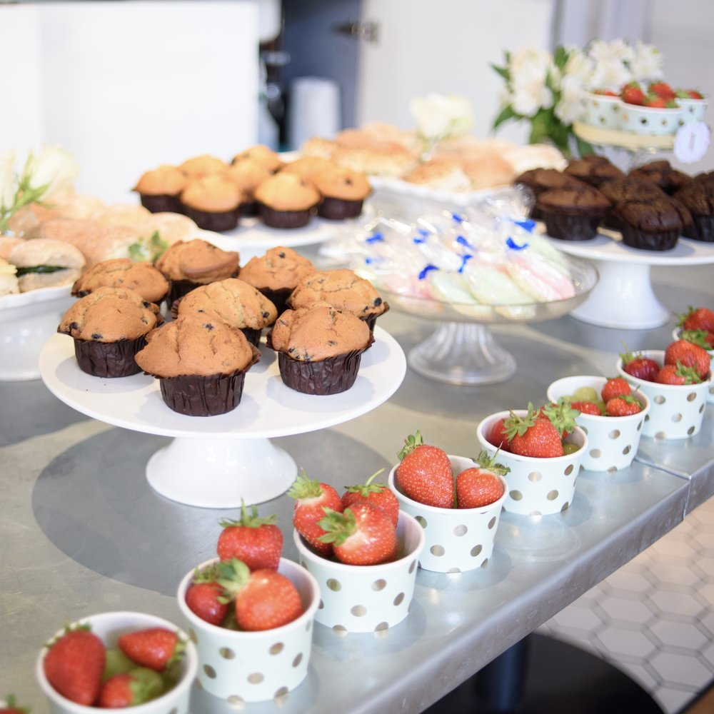 A mixture of cake stands for hire. Please enquire for further information