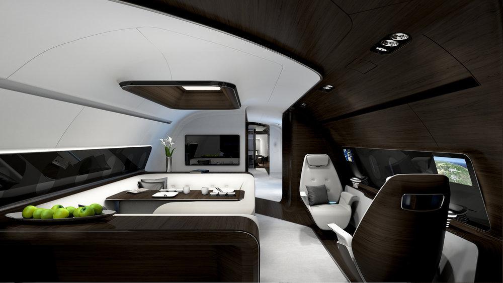 VIP Interior U0026nbsp;| ACJ320neo Cabin Design Integration Partner To  Mercedes Benz Style For