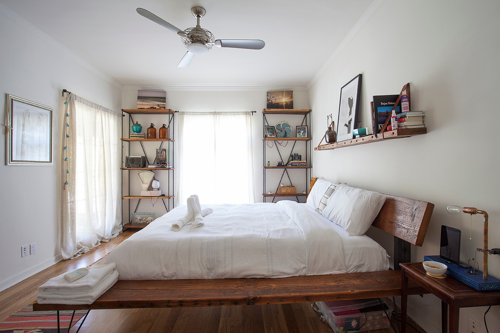 rustic-platform-bed-in-Bedroom-Eclectic-with-open-shelves-ceiling-fan-9.jpg