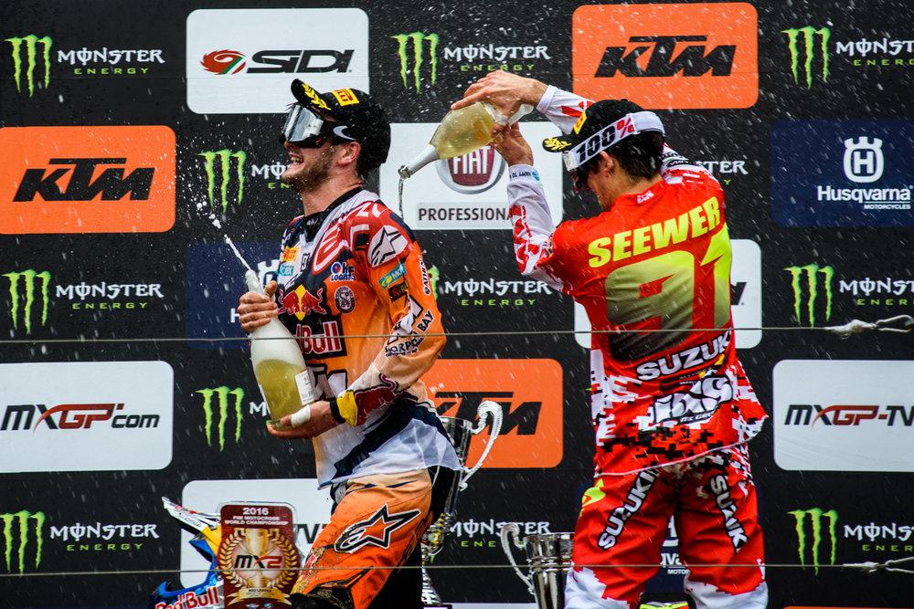 01.05.2016. MX2 2. brauciens/Race2. MXGP, Latvia. Zelta Zirgs, Ķegums.
