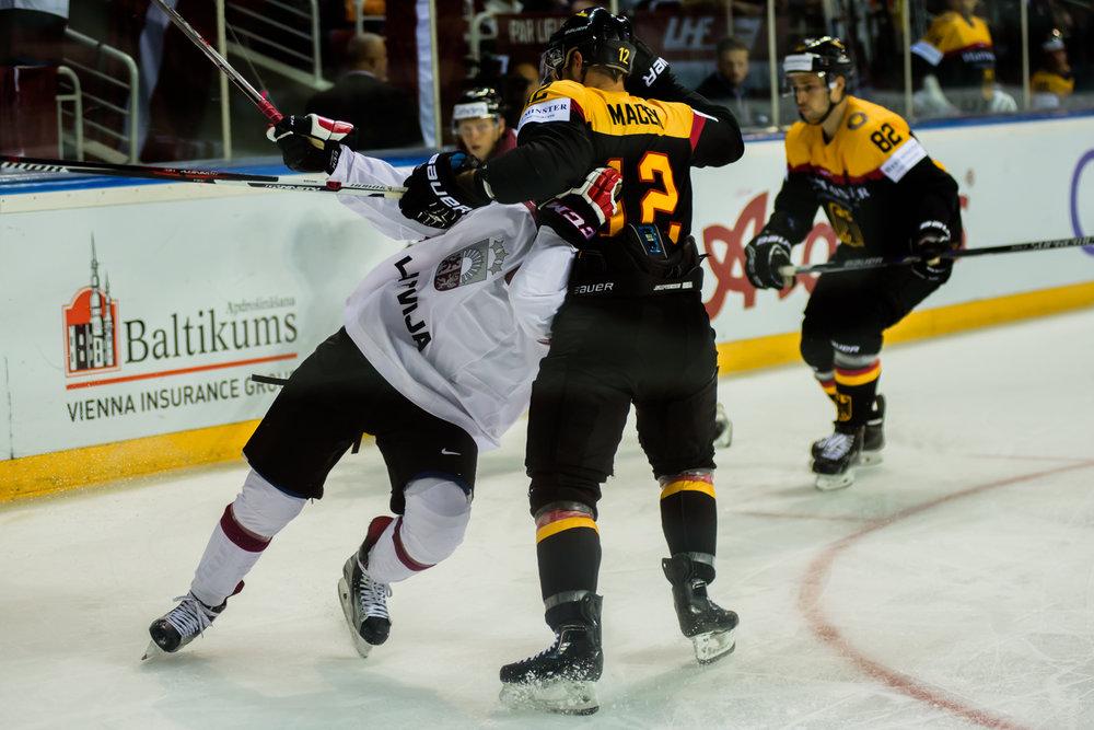 04.09.2016. 2018.gada ziemas Olimpisko spēļu kvalifikācijas turnīrs hokejā.