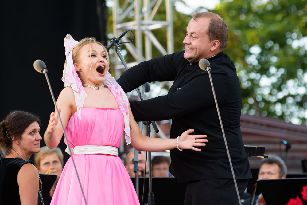 31.07.2016. Siguldas Opermūzikas svētku Galā koncerts.