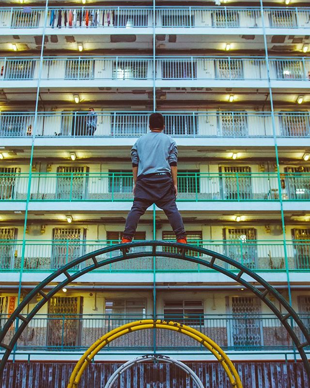 Hong Kong may be a concrete jungle.. but it's also an urban playground 🤙🏼Time to head back home soon for a visit I think 🏙☁️