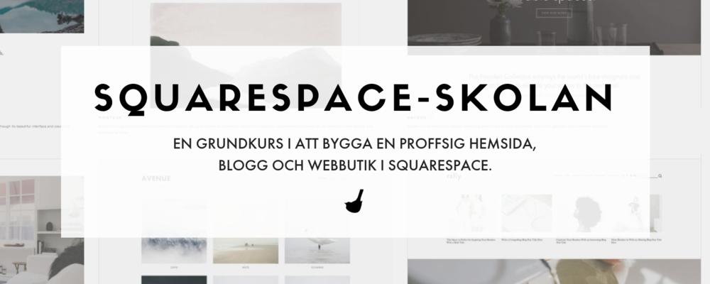 Squarespace-skolan