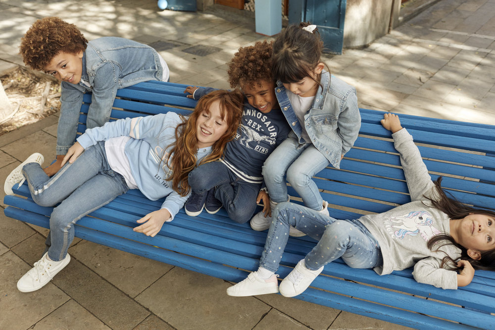 DENIM DAYS – KIDS - Part of the H&M Denim SS19 campaign.