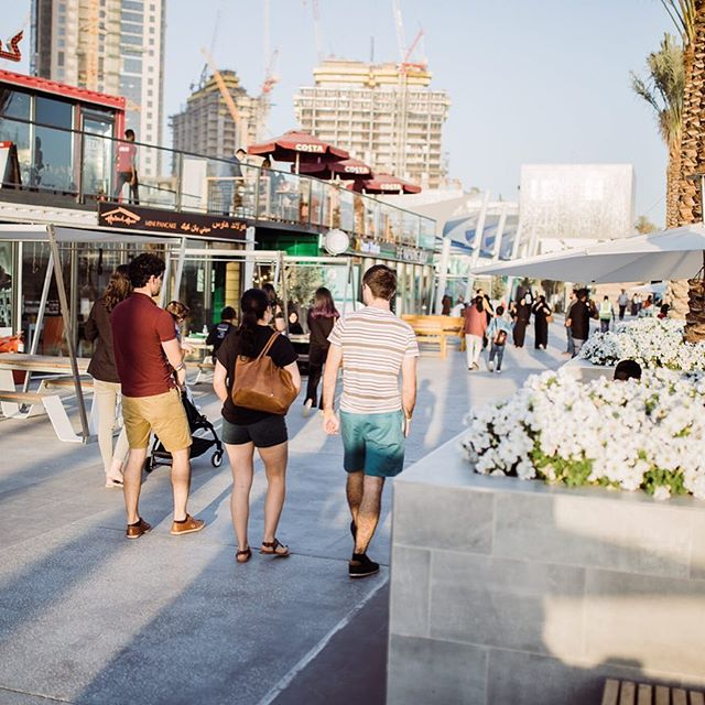 Shop, dine, relax and enjoy your time at #RiseDubaiCreekHarbour ✨