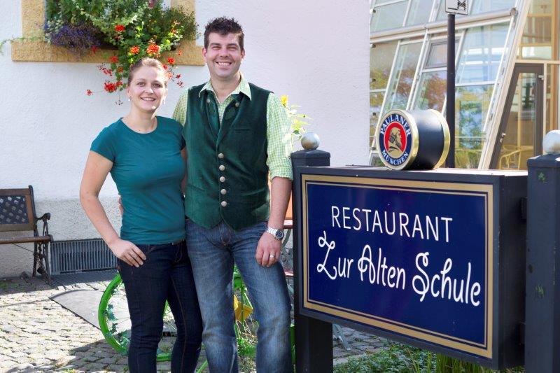 Maria und Thomas Letsch verwöhnen die Gäste mit Schmankerln in ihrem Restaurant Zur Alten Schule.