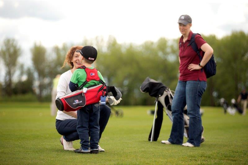Golfen ist ein Familiensport!