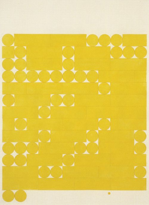 mspratibha :     tauba auerbach - morse alphabet, no spaces,yellow.2005