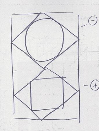 Early Lima rug sketch   aiiostudio.com