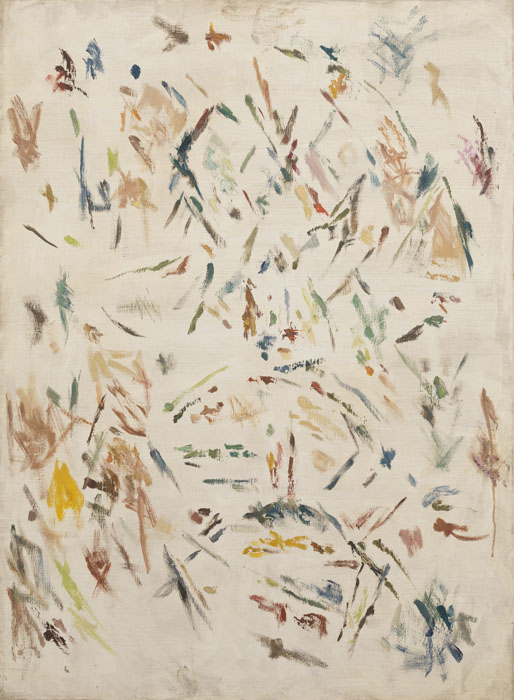 ERNEST MANCOBA   Untitled  ca 1960-65 Oil on canvas 99 x 72.5cm