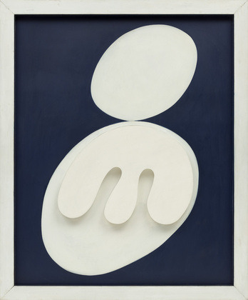 Hans Arp, Two Heads & Leaves and Navels, 1929.