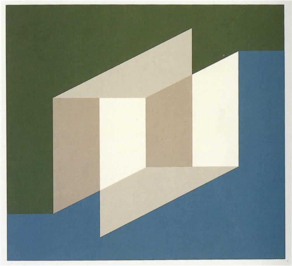 Josef Albers  Never Before h, 1976