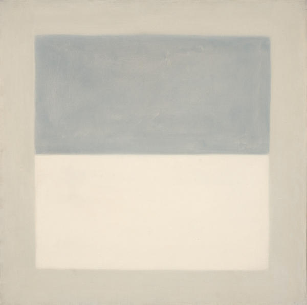 Agnes Martin  Rain Study, 1960