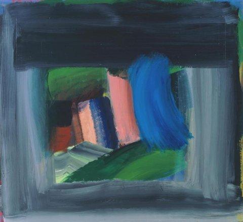 'Rain'  Howard Hodgkin  1984-9