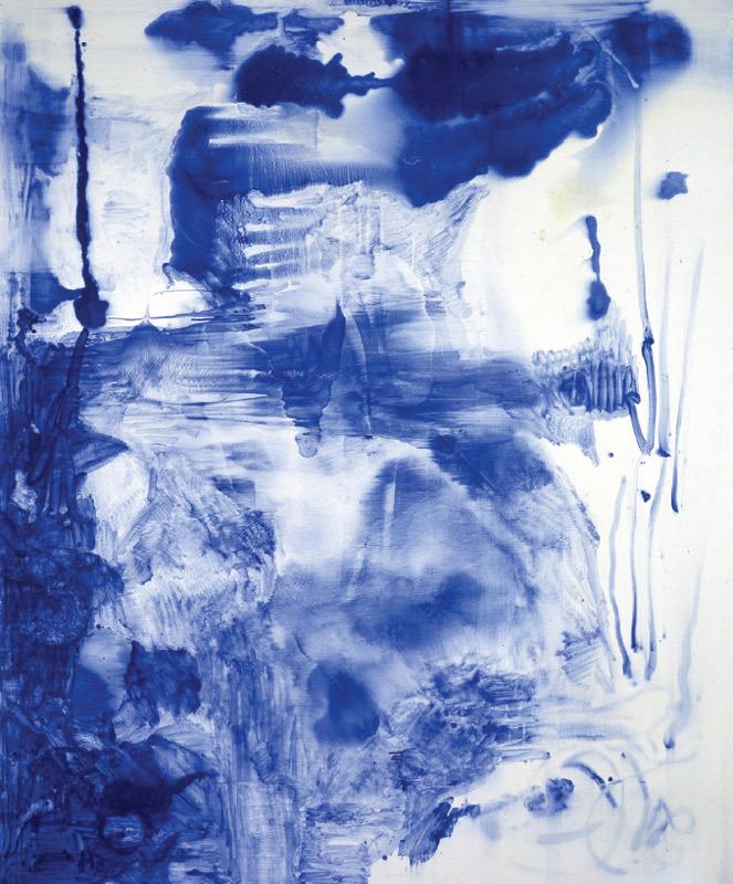 Sigmar Polke, Lapis Lazuli II , 1994