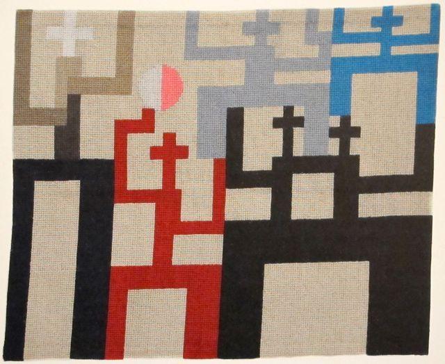 """Sophie Taeuber-Arp  """"Figures""""  1926"""
