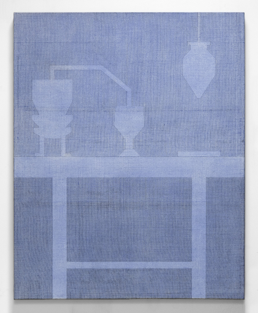 paulgillisstudio :      Paul Gillis   Distillation , 2013, graphite and gesso on hessian, 48 x 60 inches