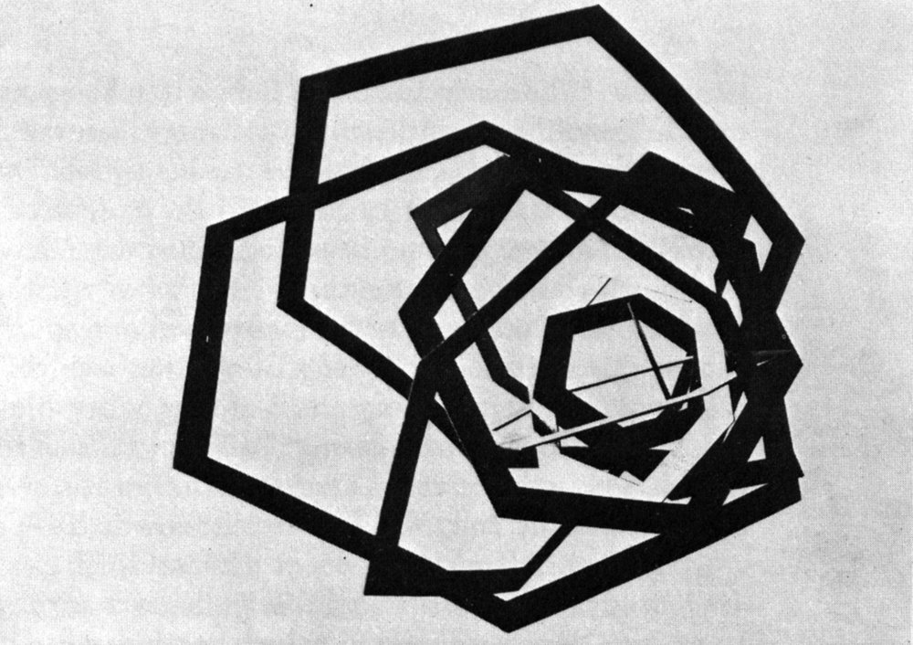 archiveofaffinities :     Alexander Rodchenko, Construction, 1920