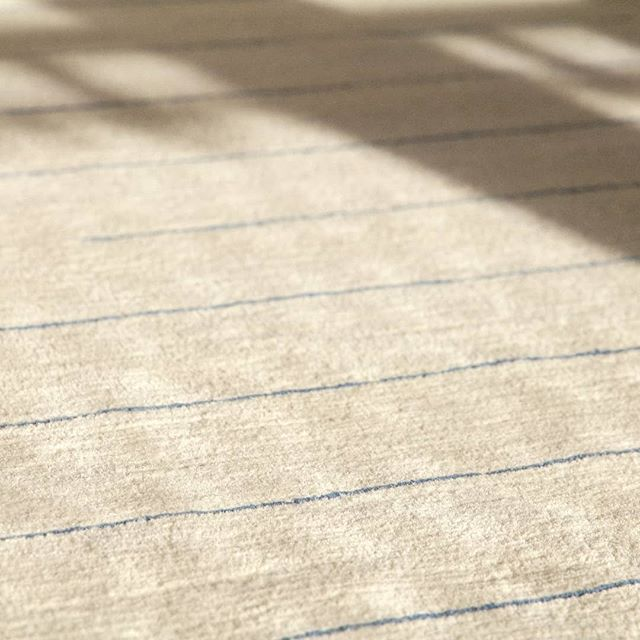 What a lovely sunny London day!  #heatwave #londonsun #atlast #rugs #handknotted #interiordesign #interiors #interiordecor #decor #wool #indigo #tibetanknot #undyedwool #textileart #nepal #tibetanwool #simplicity #geometry #knotted #craft #bespoke #madetoorder #modernist #luxuryinteriors #limitededitionrugs #goodweave #aiio