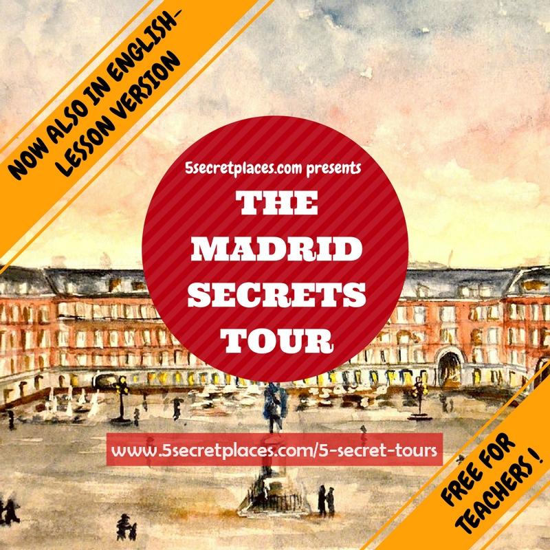 Plaza Mayor, Madrid (Watercolor credit :  Laura de Breuil )