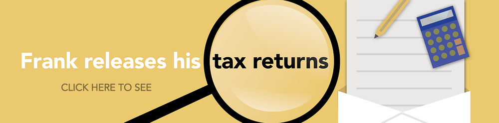 Frank Releases Tax Returns