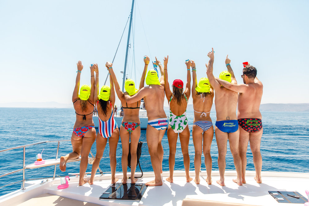 Budgy Smuggler Yacht - The Mykonos Route