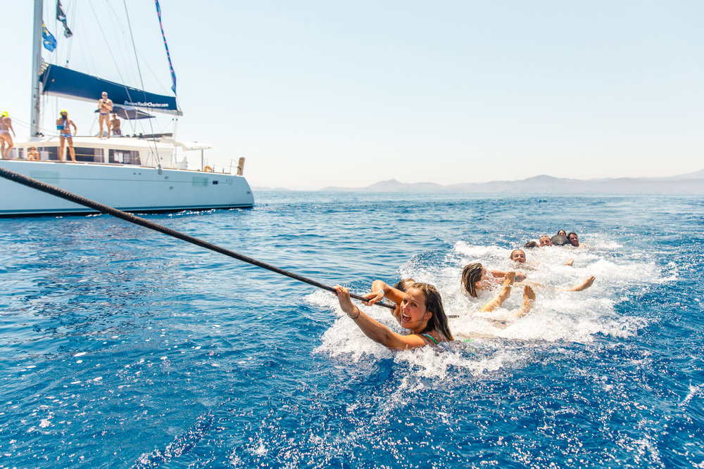 Crew Yacht Tow - The Mykonos Route