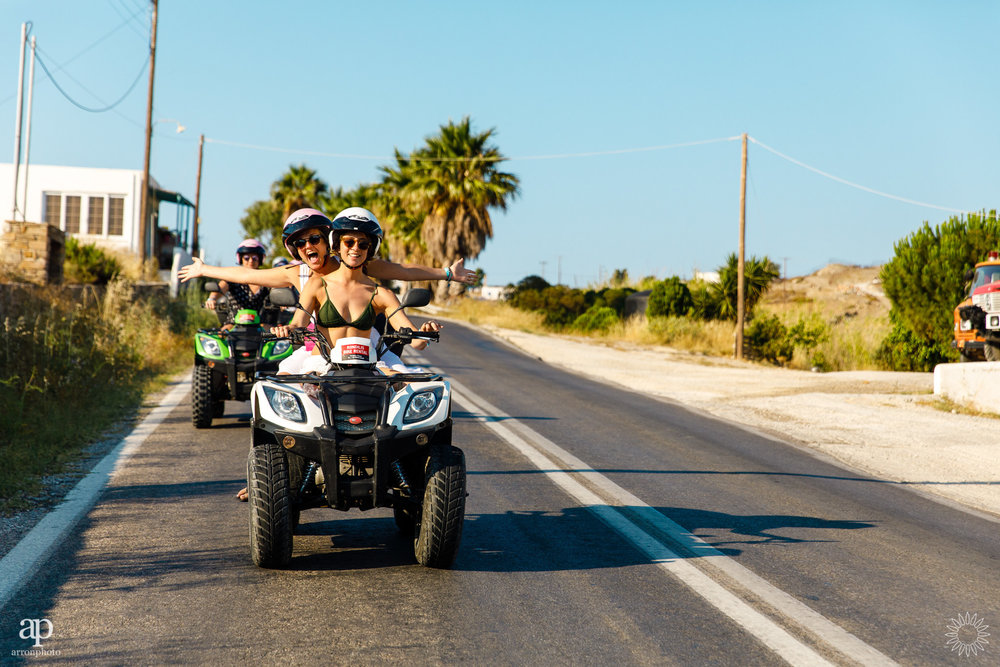 Me, you and the open road - The Mykonos Route