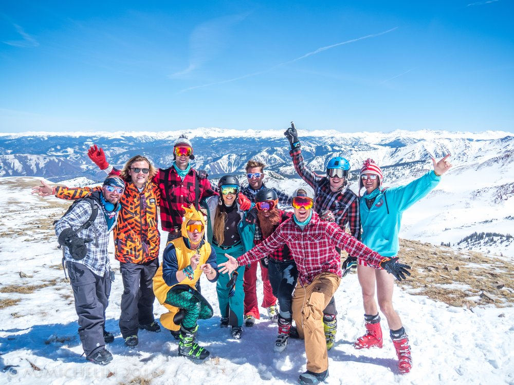 Take over the mountain with an epic group of snow unicorns!