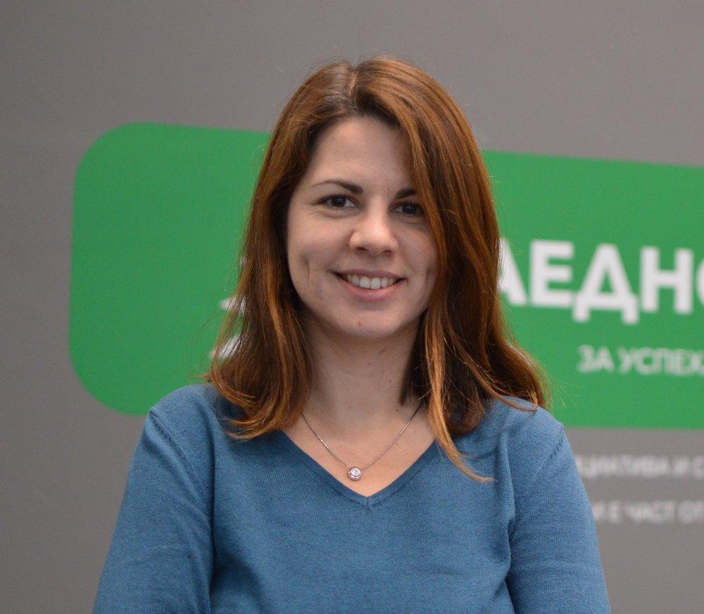 Люба Йорданова, Marketing Manager,  Заедно в час